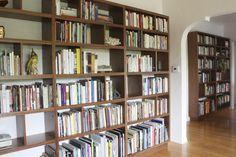 Offerman Woodshop Walnut Bookshelf Wall