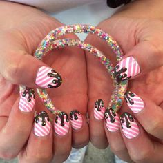 HAVE YOU ENTERED OUR @eatmedo X @iscreamnails Comp?! How cute are these bangles? Sooooo cute! They could be yours ! One day left for this comp xx #iscreamnails