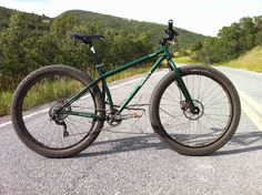 Surly Krampus 29er - This one has too many gears, but still super yummy