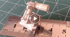 Paciente e Engenhoso Homem Constrói Funcional Motor De Cilindro Único Totalmente Feito De Papel