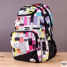 Plecak szkolny lub na wycieczkę Roxy Shadow Swell Block Type  / www.brandsplanet.pl / #roxy