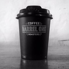 """Barrel One Coffee Roasters, Sydney. Via @dan_agas Punchy cup #coffeecup"""