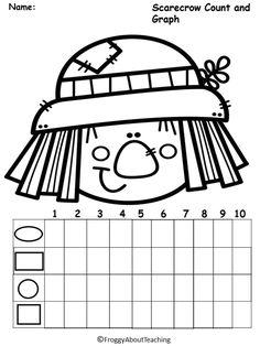 Kindergarten Turkey Math Packet
