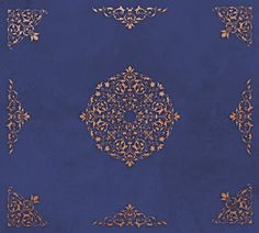Paint a Large Ceiling with Elegant Ceiling Stencils - Ceiling Medallion Stencils, Corner Stencils, Border Stencils