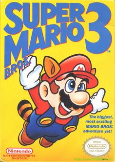 Super Mario Bros. 3. By far the best Mario game ever made.  Got this from my brother for my 8th grade graduation present.