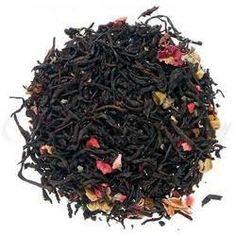 The Spice Lab No. 10 - Raspberry Cream Premium Gourmet Black Tea, 1 lb Resealable Bag * See this great product. (This is an affiliate link) #BlackTea