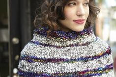Bethume by Jacob Siefert | malabrigo Caracol in Aniversario and Natural