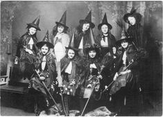vintage halloween | black and white, magic, occult, vintage, witch - inspiring picture on ...