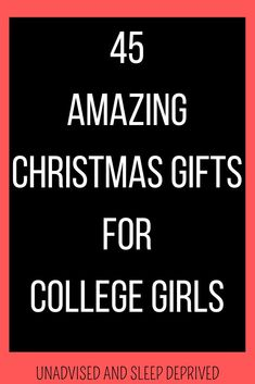 Christmas gift ideas for college girls. Find 45 different gift ideas that are perfect for college students.   christmas gift ideas, christmas gift ideas for college girls, college girl gifts, college gift ideas, college gifts Student Christmas Gifts, College Student Gifts, Christmas Gifts For Girls, Homemade Christmas Gifts, College Students, Mason Jar Christmas Crafts, Diy Crafts For Boyfriend, Hunting Birthday, White Elephant Gifts