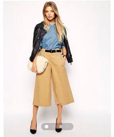 Asos culottes pants