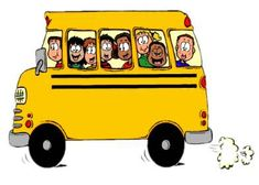 This is the gang on the Little Bus! ♥