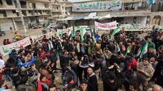 Tuntut Revolusi Gulingkan Basyar Asad Terus Berkobar Rakyat Suriah Gelar Aksi ke Jalan  SALAM-ONLINE:Para pengunjuk rasa turun ke jalan-jalan di Maaret al-Numan yang terletak di sebelah selatan Idlib. Hal yang sama juga dilakukan demonstran di Douma dan Kafarbatna di Ghouta timur pada Jumat (17/3/2017) kemarin.  Rakyat Suriah itu menuntut untuk terus mengobarkan revolusi Suriah menggulingkan rezim Basyar Asad yang pada Maret ini telah memasuki tahun ketujuh.  Para demonstran di Kota Maaret…