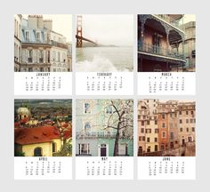 10 Calendars to Inspire Travel in 2014