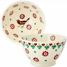 Old Bowl Christmas Joy - Emma Bridgewater - Pine-apple - Importeur Emm