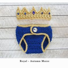 Items similar to Newborn Baby Boy Clothes, Newborn Crochet Crown and Diaper cover set - Infant newborn Take home outfit baby gift - prince crown - baby gift on Etsy Crochet Baby Clothes Boy, Trendy Baby Boy Clothes, Newborn Boy Clothes, Crochet For Boys, Newborn Outfits, Baby Boy Newborn, Baby Boy Outfits, Boy Crochet, Crochet Gifts