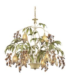 ELK Lighting 86054 Huarco 28 Inch Two Tier Chandelier #EarthDayPinaway