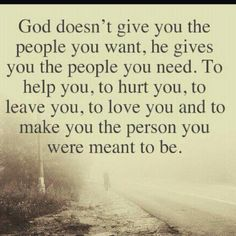 The person you were meant to be...