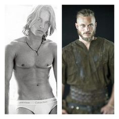 From Calvin Klein to Vikings..  Travis Fimmel.