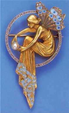 Art Nouveau by  René Lalique