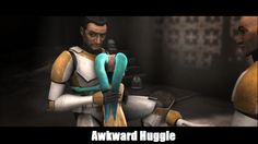 Awkward Huggle by AngelAxexinf.deviantart.com on @deviantART