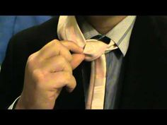 How to tie an Atlantic Knot  #menswear