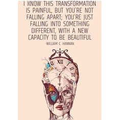 """Learning to be comfortable in the unknown and constant uncertainty is what I'm practicing. Nothing…"""""""