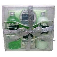 Bath And Body Gift Set, Eucalyptus Aloe Vera Scent, Includes: Body Lotion (11.8 Fl Oz), Shower Gel (11.8 Fl Oz), Body Scru... $9.95