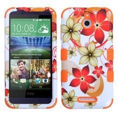 MYBAT TUFF Hybrid HTC Desire 510 Case - Hibiscus Flower