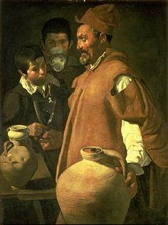 Acquaiolo di Siviglia, Velazquez, 1620
