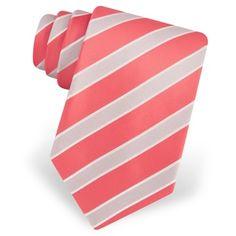 Boys Neckties Coral Ties for Children Groomsmen Colors and
