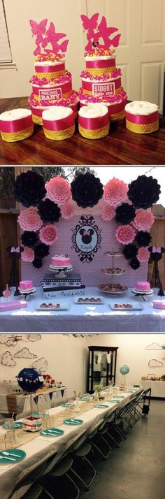 Need someone in your area who can provide event decorations? Being one of the best rated event decorators, Rachel Quinonez will provide unique baby shower decorations, wedding reception decorations, and more. Open this pin to learn more.