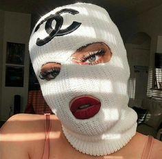Girl Gang Aesthetic, Badass Aesthetic, White Aesthetic, Fille Gangsta, Thug Girl, Swag Girl Style, Bad Girl Wallpaper, Gangster Girl, Mask Girl