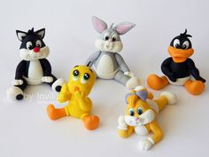 Looney tunes babies / cake toppers
