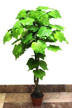 90 cm-es dekorációs fa (szőlőleveles) Herbs, Herb, Medicinal Plants