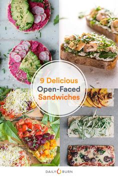 Don't let your love for open-faced sandwiches stop at avocado toast. These delicious and healthy recipes will feed your obsession in new ways.  via @dailyburn
