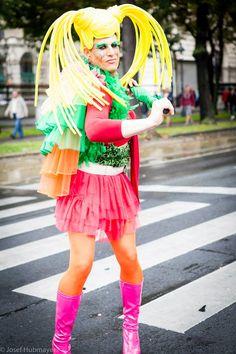 Streetparade in Vienna Harajuku, Style, Fashion, Moda, La Mode, Fasion, Fashion Models, Trendy Fashion