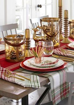 Gold Tabletop Target Christmas Decorations