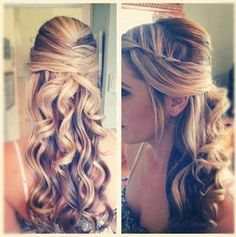 it's so nice with a long hair! you can find the way to make a beautiful hair in vnstyles.net