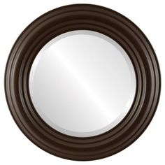 Round Wall Mirror, Beveled Mirror, Round Mirrors, Coastal Furniture, Shabby Chic Furniture, Brown Paint, Outlet Store, Home Decor Trends, Home Decor Outlet