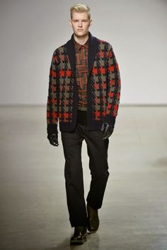 #Menswear #Trends  Perry Ellis Fall Winter 2015 Otoño Invierno #Tendencias #Moda Hombre    M.F.T.