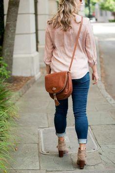 Monogrammed Crossbody Handbag Sienna Purse Tassel Bag