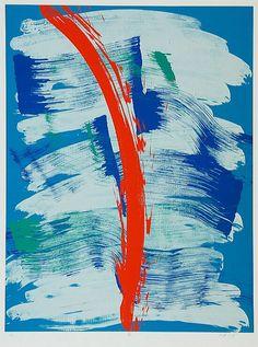'SHUN' (1990) By Kazuo Shiraga