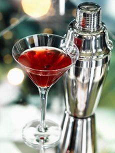Cherry Martini - grand mariner, vodka, tart cherry juice (and other cherry drinks with anti-hangover properties)