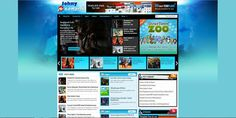 Johny kampret is template blogger that design in magazine game style blogger. You can use this template for any content games. It's a 2/3 column blogger template with 1 right sidebar, static page ready, 3 column footer, magazine style blogspot template with blue and white color, automatic slider carousel, ads ready, pagination for blogger ready, automatic recent slider, dropdown menu, clean design template, and more.