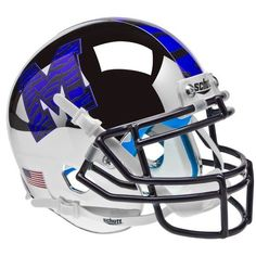 Old Ghost Collectibles - Memphis Tigers NCAA Schutt XP Chrome Full Size Replica Football Helmet, $138.99 (http://www.oldghostcollectibles.com/memphis-tigers-ncaa-schutt-xp-chrome-full-size-replica-football-helmet/?page_context=category