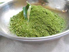 Ceylon Fresh Dried Curry Leaves Powder 100%  Natural  Organic (50g)  #Homemade