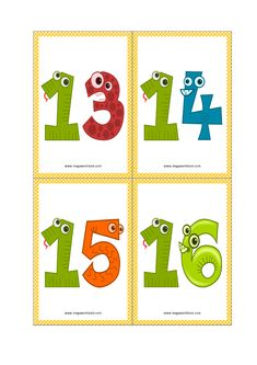 Number Flashcards - Number Flashcards Printable FREE - to 1 to - MegaWorkbook Free Printable Numbers, Free Printable Flash Cards, Printable Preschool Worksheets, Printable Calendar Template, Kindergarten Worksheets, Free Printables, Teaching Numbers, Numbers Preschool, Preschool Math