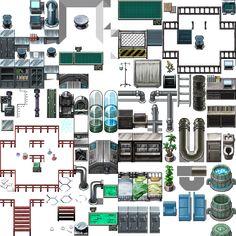 Image result for machine tileset rpg maker