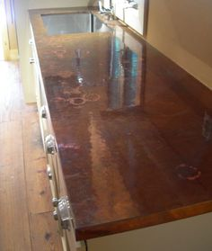 Copper Counter Tops