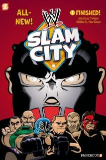 WWE Superstars Line-Up, WWE Slam City Book - http://www.wrestlesite.com/wwe/wwe-superstars-line-wwe-slam-city-book/